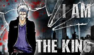 King Grimmjow by CaptainLaser