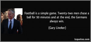 More Gary Lineker Quotes