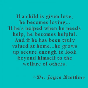 Wisdom from Dr. Joyce Brothers