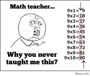 Math teachers - Funny Pictures, Funny Quotes, Funny Videos - 9LoLs.com