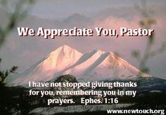 Pastor Appreciation Clip Art | Pastor's Appreciation ecards More