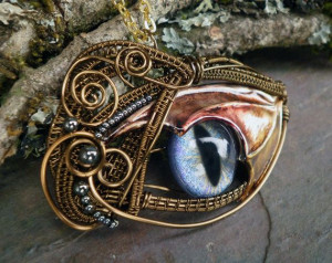 Dragon Wing Eye PendantDragons Beards, Dragons Wings, Bearded Dragon ...