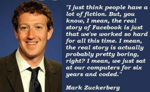 Mark zuckerberg famous quotes 1