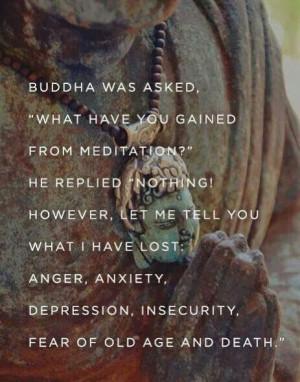 Buddha on Meditation