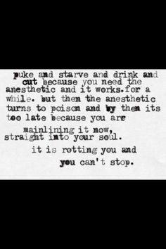 eating disorder disorder quotes night life