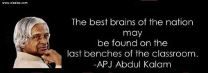 Motivational Thoughts-Quotes-Dr. APJ Abdul Kalam-Brains-Best-Great