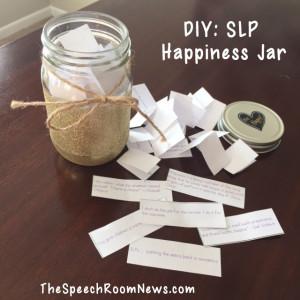 DIY: SLP Happiness Jar