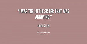 annoying little sister quotes