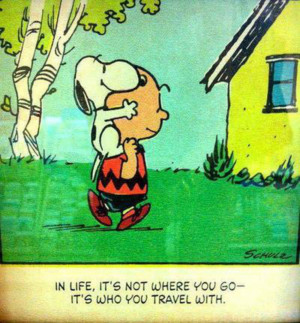 ... Singapore » Blogs » First Entry @ Travel Blog » Snoopy - Life Quote