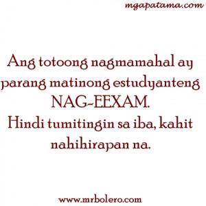 ... nagmamahal tagalog quotes Pamatay na Banat and Mga Patama Love Quotes