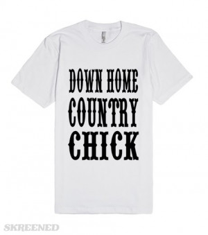down-home-country-chick-yellow-country-western-southern-sayings-girls ...