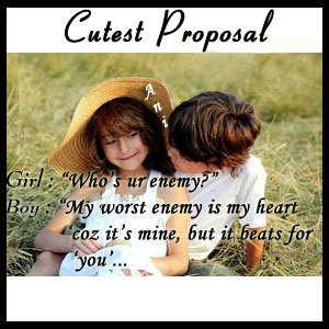 Cutest proposal