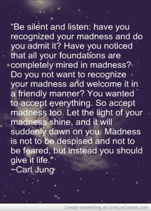 Carl Jung on madness