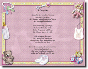 New Baby Girl Poems