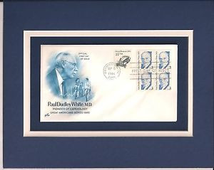 Paul Dudley White Cardiologist Cardiology 1st Day Cover Paul Dudley