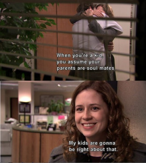 funny the office quotes pam