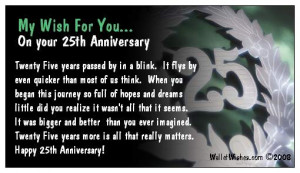25th Business Anniversary Quotes Quotesgram