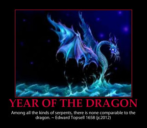 Dragon quote, picture, interesting-year of the dragon