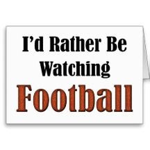 watching football quotes | Football Sayings Greeting Cards, Note Cards ...