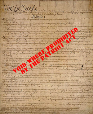 Home / List of quotation by Patriot Act