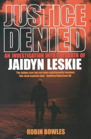 Justice Denied: An Investigation Into The Death Of Jaidyn Leskie