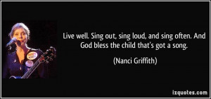 More Nanci Griffith Quotes