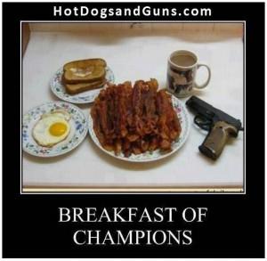 Hot Dogs & Guns: Breakfast Of Champions