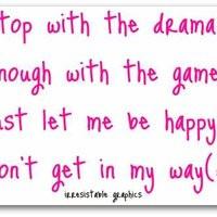 Drama Quotes...