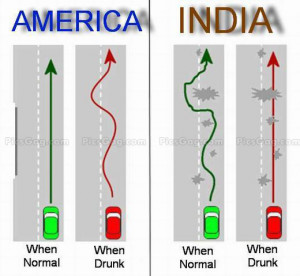 Drunk Driving Funny Difference
