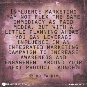 ... immediacy as paid media, BUT...   Quote by @Nyerr Parham Market Quote