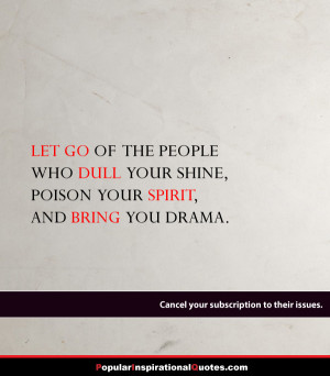 letting go of negative people sayings