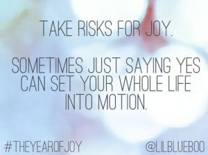 On being vulnerable and taking risks #theyearofjoy series by Ashley ...