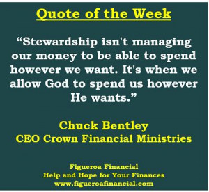 Quote of the Week (Mar-16-2014) #stewardship