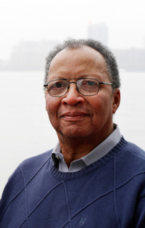 Author Walter Dean Myers, who grew up in Harlem, assumed the two-year ...