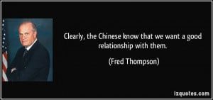 More Fred Thompson Quotes