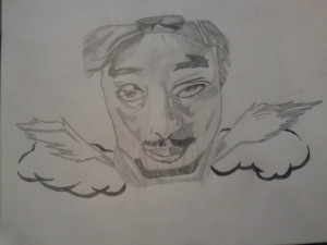tupac shakur drawing tutorials people famous faces how draw ajilbab