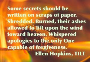 Ellen Hopkins Quote(20)