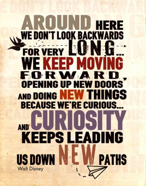 Poster Walt Disney art print, canvas poster inspirational quote art ...