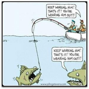 ... hardly wait to spend time enjoying my favorite pastime – fishing