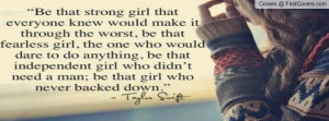 Taylor Swift Quote Profile Facebook Covers