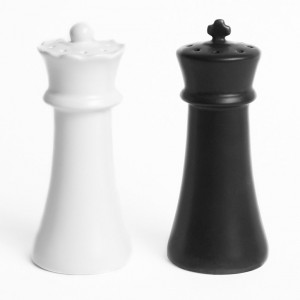 Checkmates Salt And Pepper