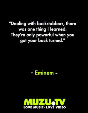Eminem on betrayal #music #quotes #inspiration Click to watch Eminem ...