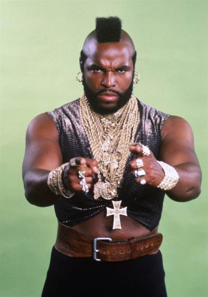 THE A-TEAM -- Season 2 -- Pictured: Mr. T as B.A. Baracus (Photo by ...