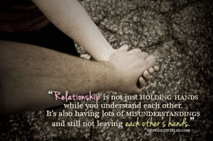 Home » Picture Quotes » Relationship » Relationship is not just ...