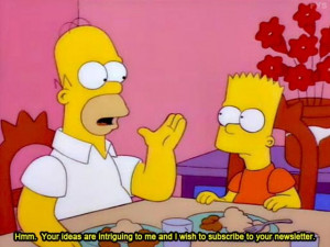 Ridiculous Quotes From Simpsons (100 pics)