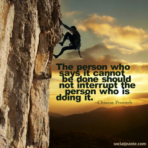 Don't put other people down when they share their dreams, instead ...