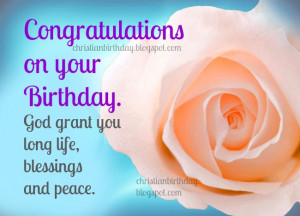 your Birthday. Free images, free christian quotes for birthday friend ...