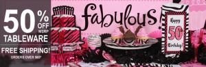 50 And Fabulous Birthday