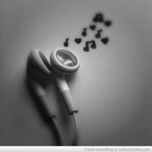 cute, music, music love, pretty, quote, quotes