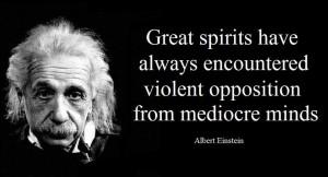 Great Spirits Einstein Quotes